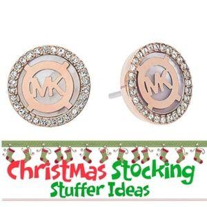 🎁🎁 Michael Kors Rose Goldtone Stud Earrings 🎁🎁